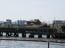 港口Gorleston 免版税图库摄影
