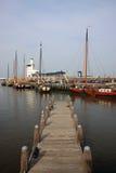 港口harlingen 图库摄影