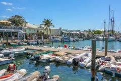 港口Key West 图库摄影