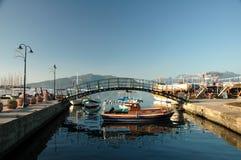 港口marmaris 免版税库存照片