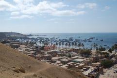 港口paita秘鲁 免版税库存照片