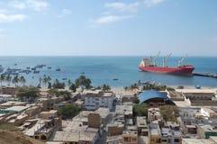 港口paita秘鲁 图库摄影