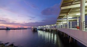 港埠在马尼拉 免版税库存照片