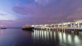 港埠在马尼拉 免版税图库摄影
