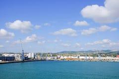 港奇维塔韦基亚,它 库存照片