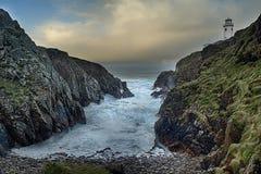 港湾Eske, Co Donegal,爱尔兰 库存图片