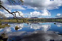 港湾Eske, Co Donegal,爱尔兰 免版税库存照片