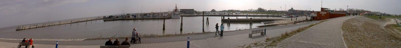 港诺伊哈尔林格尔西尔,德国29 03 2010年 免版税库存照片