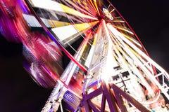 游乐园。 轮子 图库摄影