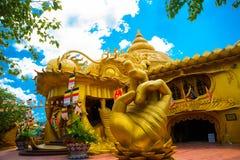 游乐园在胡志明市 Suoi连队 聚会所 越南 库存照片