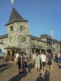 游乐园在蒙得维的亚 库存图片