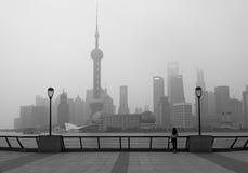游人在上海 图库摄影