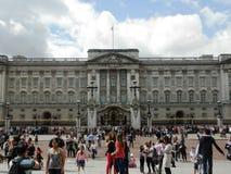 游人在伦敦 免版税库存照片