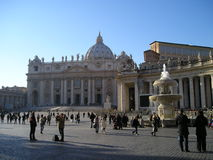 游人在罗马 库存照片