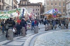 游人在罗马 免版税图库摄影