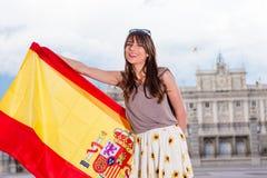 游人在西班牙 免版税图库摄影