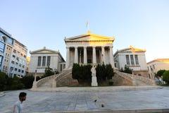 游人在雅典,希腊享用 图库摄影