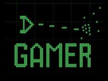 游戏玩家太空飞船 库存照片