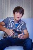 游戏玩家 免版税库存照片