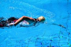 游泳人 免版税库存图片