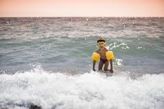 游泳孩子 库存照片