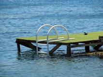 游泳平台 免版税图库摄影
