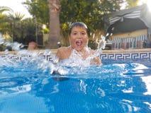 游泳是乐趣!!!! 免版税库存图片