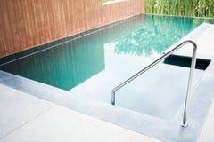 游泳梯子 图库摄影