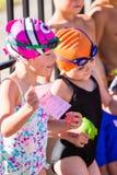 游泳比赛 免版税库存图片