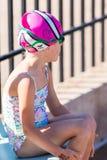 游泳比赛 免版税库存照片