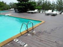 游泳池。 免版税库存图片