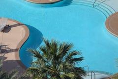 游泳池在拉斯维加斯,内华达 库存照片