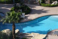 游泳池在拉斯维加斯,内华达 库存图片