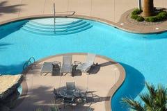 游泳池在拉斯维加斯,内华达 免版税库存图片