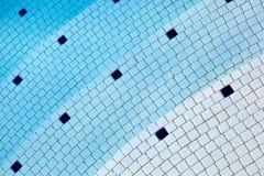 游泳池摘要 免版税库存图片