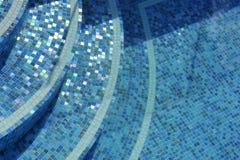 游泳池步骤 库存照片