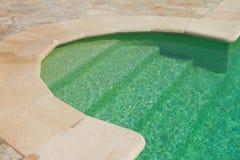 游泳池步 库存图片