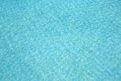 游泳池水波纹 图库摄影