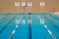 游泳池游泳 免版税库存图片