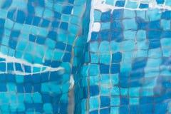 游泳池纹理 库存图片