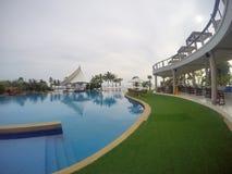 游泳池芭达亚 库存照片