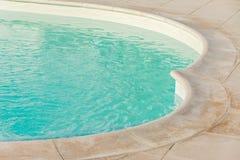 游泳池边界 库存图片