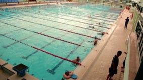 游泳池,可以2016年,土耳其 股票视频