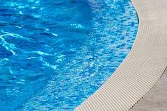 游泳池-清楚的大海细节 免版税图库摄影