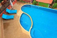 游泳池 库存照片