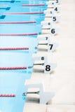 游泳的立场 免版税图库摄影