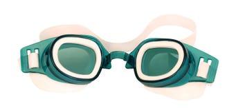 游泳的风镜 免版税库存图片