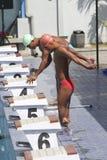 游泳竞争 库存照片