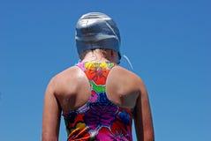 游泳者年轻人 图库摄影