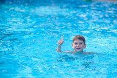 游泳者年轻人 免版税图库摄影